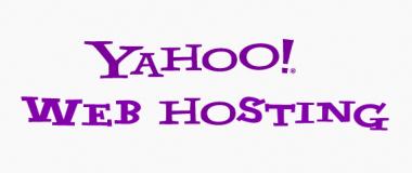 yahoo web hosting